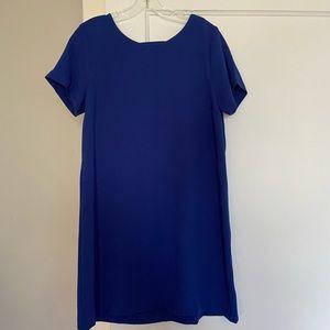 Blue shift dress, NWT